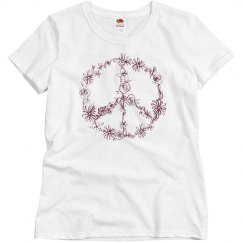 Smooth as Relaxed Fit Tee.. Peace
