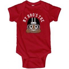 Football Bro Poop Emoji