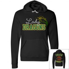 Lady Dragons Hoodie COACH