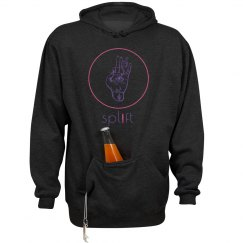 Girls Who Splift Barbell Heavy Winter Sweatshirt