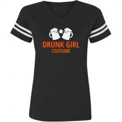 Drunk Girl Costume