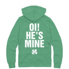Irish Aye Hes Mine Couple Hoodie