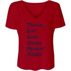 Travel Eat Sing Tesoro Choir