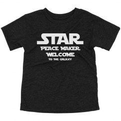 Toddler Star Peace Maker