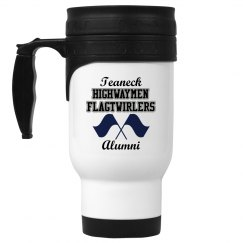 Alumni White Travel Mug