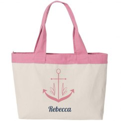Nautical Zippered Bag
