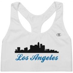 Los Angeles Skyline Silhouette