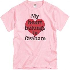 Heart belongs to Graham