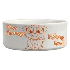 The Orange Kitty Bowl