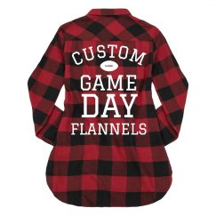 Custom Game Day Trendy Plaid