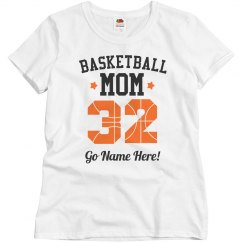 Custom Number Basketball Mom