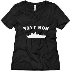 Cute Navy Mom