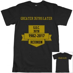 S.O.C. Reunion Shirt