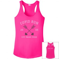 Custom Cupid Run Performance Tank