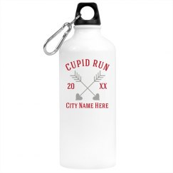 Custom City Cupid Water Bottle