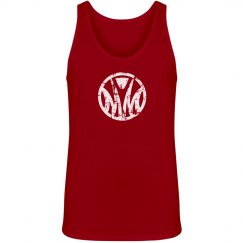 Misfits unisex red tank logo only
