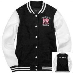 Ladies Styled Letterman Jacket