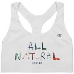All Natural - Sports Bra