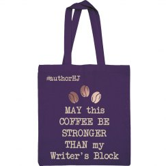 Coffee/Writer's Block Tote bag