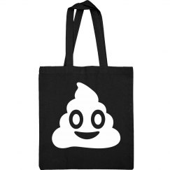 Simple Emoji Poo Bag