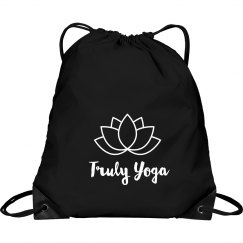 Truly Yoga Lotus Bag (Black/White)