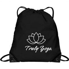 Truly Yoga Lotus Bag (Black/White)