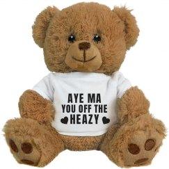 Slang Mothers Day Gift Bear