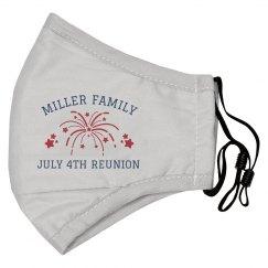 Custom Family July 4th Reunion