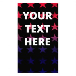 Add Your Text Holiday Stars Mask