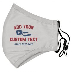 Custom Text Flag Mask