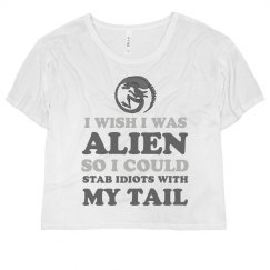 Funny Alien I Wish I Could