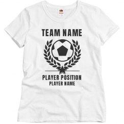 Customiz able Soccer Shirt