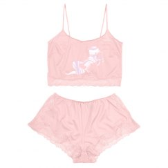 Unicorn vintage lingerie set