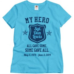 My Hero Sargent Memorial Star Top