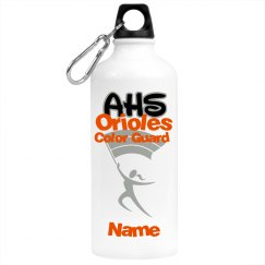 Color Guard personalized Waterbottle