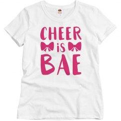 Cheer Is My Bae Shirt