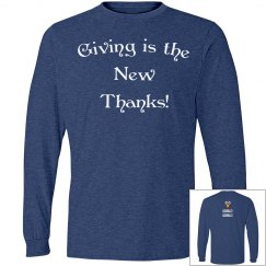 Giving is the New Thanks!!
