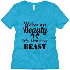 Wake up beauty