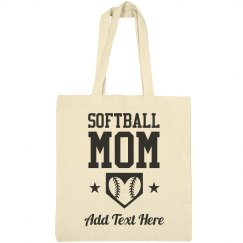 Softball Mom Home Base