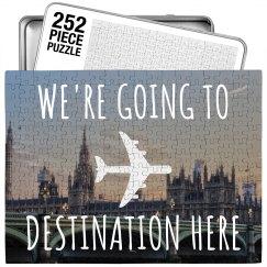 Custom Surprise Travel Puzzle