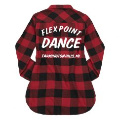Flex Point Ladies Flannel