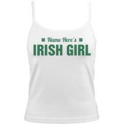 Custom Name's Sexy Irish Girl