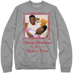 Custom Grandkids Name Christmas Sweater