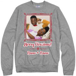 Custom Grandkids Name Christmas Sweater