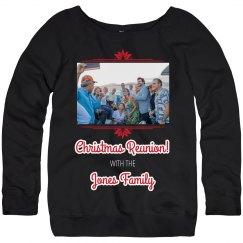 Family Christmas Reunion Sweater