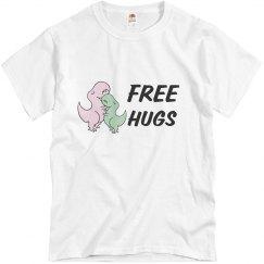 free hugs dino