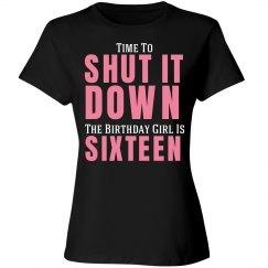 Sweet Sixteen Birthday