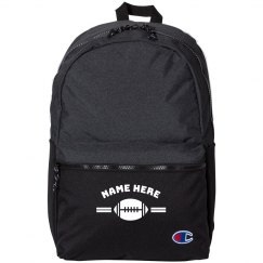 Customizable Back to School Football Backpack