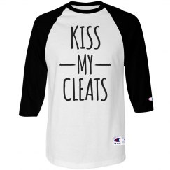 Kiss My Cleats Tee