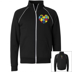 Autism Awareness Fleece